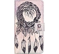 For HUAWEI P9 P8 Lite 5X 5C Y5II Y6II Case Cover Old Tree Bells Pattern Painting Card Stent PU Leather Phone Case