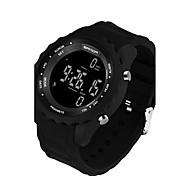 Недорогие -SANDA Муж. Наручные часы Смарт Часы Армейские часы Модные часы Спортивные часы Цифровой Японский кварц LED Педометры Фосфоресцирующий