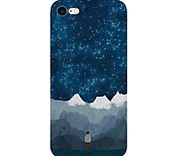 For Apple iPhone 7 7Plus 6S 6Plus Case Cover Star Snow Mountain Pattern HD TPU Phone Shell Material Phone Case