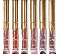 1 pcs haute qualité matte rouge à lèvres humectant imperméable à l'eau nudité lèvre lipgloss