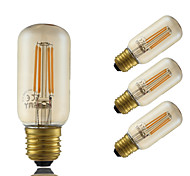 5W E26/E27 LED Filament Bulbs T 4 COB 350 lm Amber 2200 K Dimmable Decorative AC 220-240 V