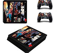 Недорогие -B-SKIN PS4 slim Стикер - PS4 Тонкий Оригинальные #