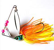 Недорогие -2 штук Рыболовная приманка Жесткая наживка пластик Металл Обычная рыбалка
