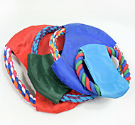 Cat Toy Dog Toy Pet Toys Chew Toy Interactive Flying Disc Rope Dog Durable Woven Halloween Cotton For Pets