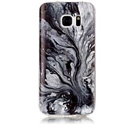 For Samsung Galaxy S7 S6 Edge S5 S4 S3 Case Cover Marble High - Definition Pattern TPU Material IMD Technology Soft Package Mobile Phone Case