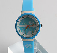 Women's Fashion Watch Quartz / Silicone Band Casual Blue Brand