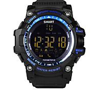 Недорогие -новый смарт-часы наручные часы водонепроницаемый IP67 открытый SmartWatch шагомер носимые устройства для iosandroid