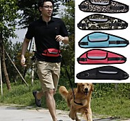 Dog Leash Hands Free Leash Running Hands free Solid Leopard Camouflage Denim Random Color