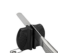 Недорогие -1шт домой и наружного использования мини-керамический стержень стали вольфрама лагеря карманы кухонный нож точилка Protable заточки