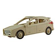 Недорогие -Набор для творчества Конструкторы 3D пазлы Обучающая игрушка Пазлы Деревянные пазлы Игрушечные машинки Игрушки Автомобиль