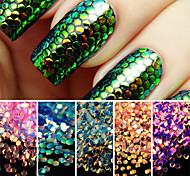 cheap -1set Glitter & Poudre Sequins Glitters Fashion Neon & Bright High Quality Daily