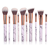 cheap -10 Contour Brush Foundation Brush Powder Brush Concealer Brush Brow Brush Eyeshadow Brush Blush Brush Makeup Brush Set Synthetic Hair