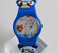 Модные часы / Кварцевый силиконовый Группа Мультфильмы Повседневная Разноцветный