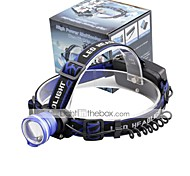U'King Headlamps LED 2000 Lumens 3 Mode Cree XM-L T6 Batteries not included Alarm Adjustable Focus Compact Size Easy Carrying High Power