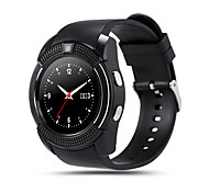 1.22inch MTK6261 Support Sim TF Card Slot Bluetooth Clock 0.3M Camera MTK6261D Smart Watch for IOS Android