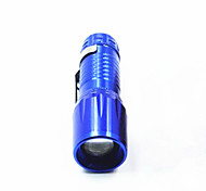 LED Flashlights / Torch LED 150 lm 3 Mode LED Adjustable Focus Waterproof Compact Size Super Light Zoomable for Camping/Hiking/Caving