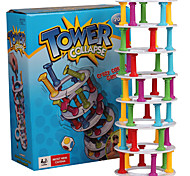 cheap -Stacking Game Educational Toy Toys Balance Novelty Cylindrical Plastic Classic Cartoon 1 Pieces Girls' Boys' Gift