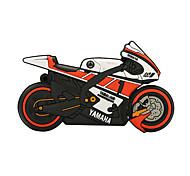 rígido de 16GB de borracha motocicleta unidade flash USB 2.0