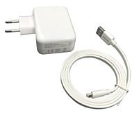 Certifié CE UE chargeur mural Voyage 1a / 2.4a sortie double + câble de foudre certifié pomme de mfi 6s iphone en plus
