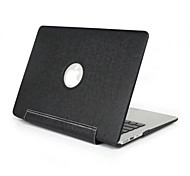 "Case for Macbook Air 11""/13"" Solid Color Plastic Material COLOR PU Leather Laptop Case Cover Full Body Protect Protective Shell Case"