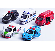 Vehicle Playsets Toy Cars Race Car Police car Toys Car Metal Alloy Plastic Metal Classic & Timeless Chic & Modern 1 Pieces Boys' Girls'