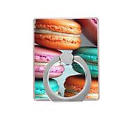 Недорогие -макаронный шаблон пластиковый держатель кольца / 360 вращающийся для мобильного телефона iphone 8 7 samsung galaxy s8 s7