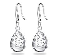 cheap -Women's Sterling Silver Silver Drop Earrings Dangle Earrings - Unique Design Bridal Elegant Drop For Wedding Party Anniversary Birthday