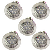 cheap -5pcs 3.5W 100 lm E14 GU10 E27 LED Grow Lights 6 leds SMD 5730 Red Blue K AC85-265 AC 85-265 V