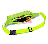L Belt Pouch/Belt Bag Chest Bag for Fishing Climbing Leisure Sports Traveling Running Camping & Hiking Fitness Sports Bag Waterproof
