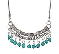 Недорогие -Жен. форма Классический Ожерелья с подвесками Кожа Сплав Ожерелья с подвесками Повседневные Бижутерия