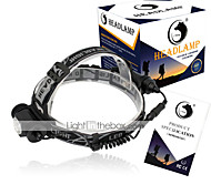 U'King Headlamps LED 1500 Lumens 3 Mode Cree XP-E R2 Batteries not included Compact Size Easy Carrying for Camping/Hiking/Caving Everyday