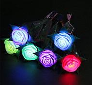 3PCS Luminous Spring Roses Toys Apple Flower Toys Valentine's Propose Supplies Toys Party Holiday Gifts Decorations Toys