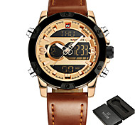 cheap -NAVIFORCE Men's Wrist Watch / Military Watch / Sport Watch Alarm / Calendar / date / day / Water Resistant / Water Proof / Large Dial /