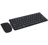 baratos -E19 ultra-fino bluetooth 3,0 mouse sem fio kit teclado