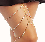 cheap -Leg Chain - Women's Gold Silver Fashion Geometric Body Jewelry For Party Special Occasion