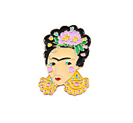 Women's Boys' Girls' Brooches Unique Design Friendship Fashion Cute Style Enamel Alloy Jewelry Jewelry For Wedding Party Special Occasion