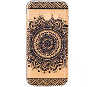 Gradient color Mandala Flower Pattern TPU Soft Phone Back Cover Case for Samsung A3(2017) A5(2017) A7(2017)