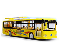 Pull Back Vehicles Toy Cars Pre-Built & Diecast Models Bus Toys Bus Metal Alloy Metal Pieces Kids' Children's Boys' Gift