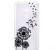 cheap -Case For Asus Glow in the Dark Frosted Translucent Pattern Back Cover Dandelion Soft TPU for Asus Zenfone 3 ZE520KL(5.2) Asus ZenFone 3