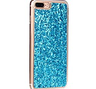 For Translucent Case Back Cover Case Glitter Shine Soft TPU for Apple iPhone 7 Plus iPhone 7 iPhone 6s Plus 6 Plus 6 5SE 5C 4S 4G