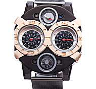 cheap -JUBAOLI Men's Quartz Sport Watch Large Dial Alloy Band Charm Black
