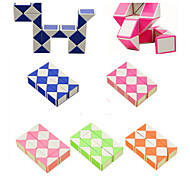 Rubik's Cube Smooth Speed Cube Snake Cube Educational Toy Smooth Sticker Plastic Square Gift