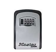 Master Combination Key Lock Box Wall Mount 4 Digit Weather Resistant Resettable Key Storage Box