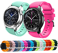 cheap -Watch Band for Gear S3 Frontier Samsung Galaxy Sport Band Rubber Wrist Strap