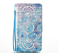 cheap -Case For Samsung Galaxy A5(2017) A3(2017) Card Holder Wallet with Stand Flip Magnetic Pattern Full Body Cases Mandala Hard PU Leather for