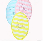 Собака Чехол для сидения автомобиля Животные Коврики и подушки В полоску Животное Водонепроницаемость Складной Желтый Синий Розовый Для
