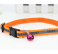 cheap -Cat Dog Harness Leash Safety Flower Nylon Black Orange Dark Blue Red