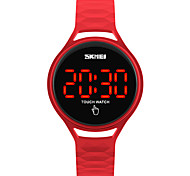 cheap -SKMEI Digital Digital Watch Wrist Watch Sport Watch Japanese Touch Screen Water Resistant / Water Proof LED Silicone Band Fashion Cool