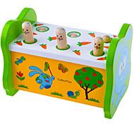 Недорогие -Игра Gopher Игра для всей семьи Игрушки Квадратный Большой размер Веселье Дерево Детские Куски
