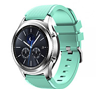 cheap -Watch Band for Gear S3 Classic Samsung Galaxy Sport Band Silicone Wrist Strap